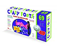 Brybelly TEVE-36 Crazy Forts 69 Piece Set Glow in the Dark