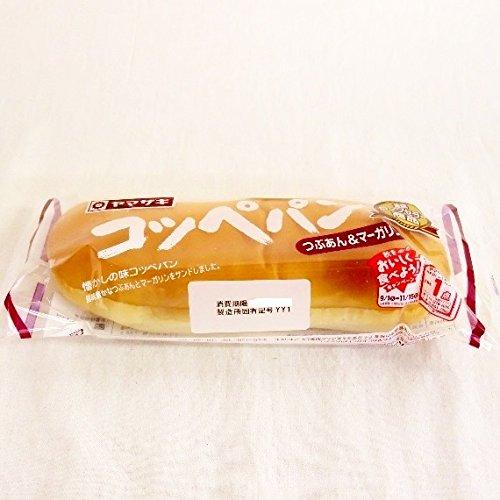 コッペパン(つぶあん&マーガリン) 山崎製パン横浜工場製造品 ×3個セット