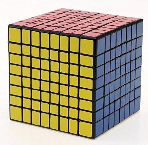 Gewaha  ルービックキューブ 黒素体 (8X8)...