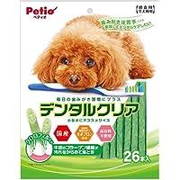ペティオ (Petio) 犬用おやつ デンタルクリア クロロフィル入り 26本入