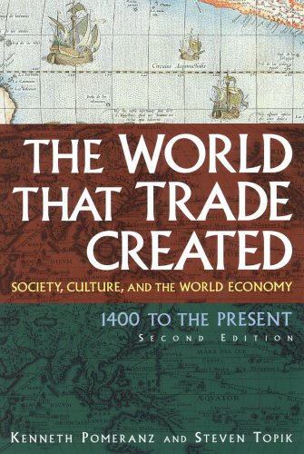 Download The World That Trade Created: Society, Culture and the World Economy, 1400 to the Present (Sources and Studies in World History) 0765617099