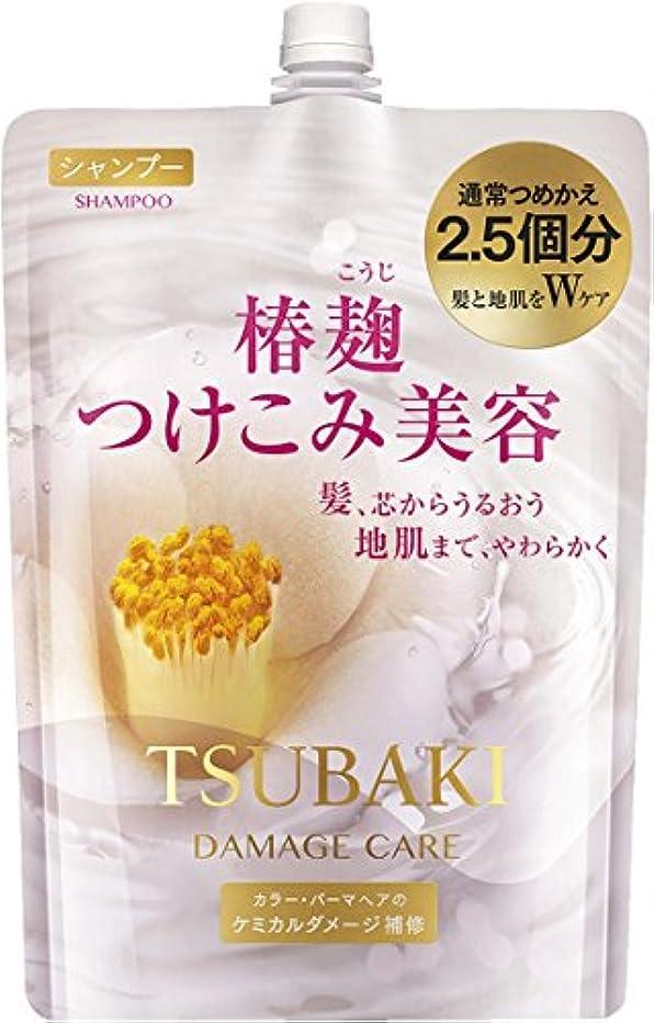 セーター滝魔術師TSUBAKI ダメージケア シャンプー つめかえ用 大容量 950ml