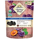 Sunny Fruit Organic Plums (5 snack pack), 150g