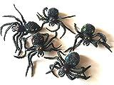 クモ リアル わさわさ動く おもちゃ フェイク ジョーク グッズ パーティー ハロウィン ドッキリ おもしろ (c 10個 セット)