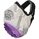 Weaver Leather Cattle Fly Mask Cow, Gray/Purple