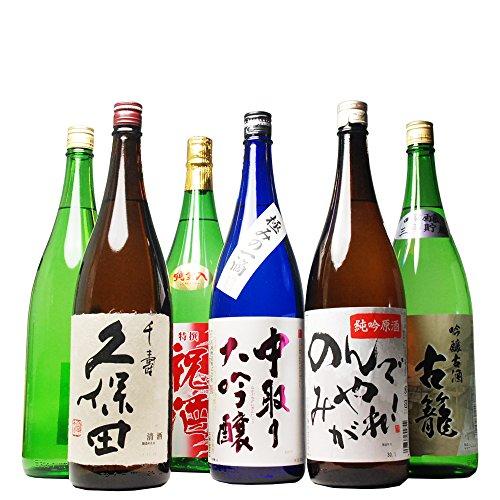 久保田 千寿 人気の銘酒 飲み 比べ セット ミツワオールスターズ 1800ml 6本セット