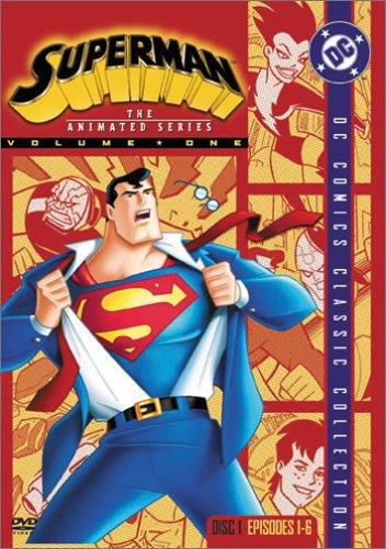 スーパーマン アニメ・シリーズ Disc1 [DVD] / ティモシー・デイリー, ダナ・デラニー, クランシー・ブラウン (出演)