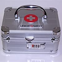 LOCKMED Medication Combination Lock Box (Small) by LockMed