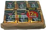 韓国のり・ヤンバン海苔 1BOX(5g * 36袋) エゴマ油海苔 韓国産 最低価格 人気商品 韓国味付けのり 格安 超特価 BIGセール 速い配送
