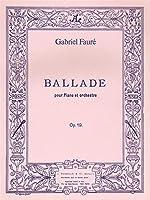 Gabriel Fauré: Ballade Op.19 (Pianos 2)