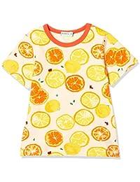82c39fb85ff42 Amazon.co.jp  オレンジ - Tシャツ・カットソー   ガールズ  服 ...