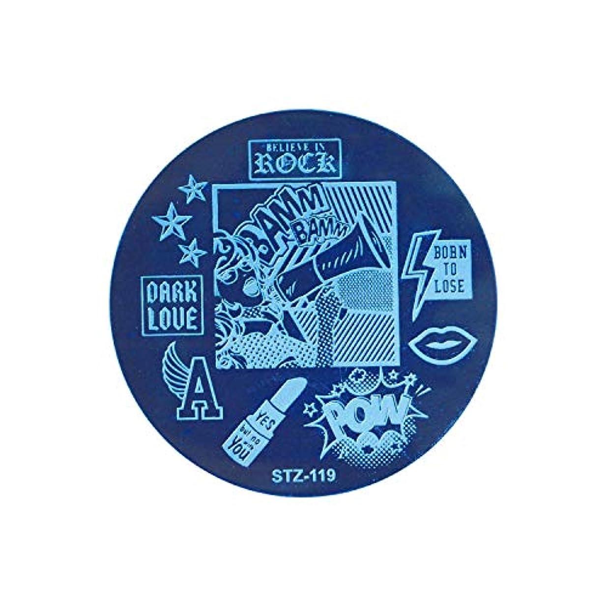 フェッチ好ましいラリーベルモント1ピースラウンドネイルスタンピングテンプレートプレートドリームキャッチャー花レース画像ポーランド転送diyツール用ネイルアート,119