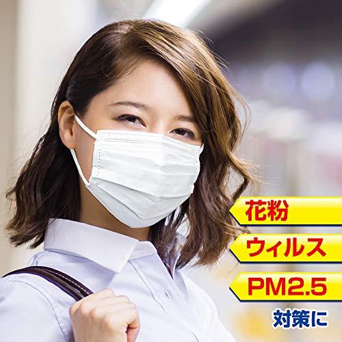 『(PM2.5対応)快適ガードさわやかマスク 小さめサイズ 60枚入』の5枚目の画像