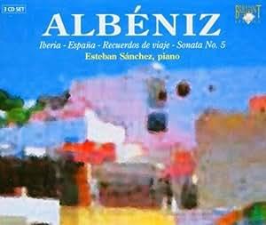 アルベニス:ピアノ曲集(3枚組)Iberia-Espana-Recuerdos de viaje-Sonata No.5