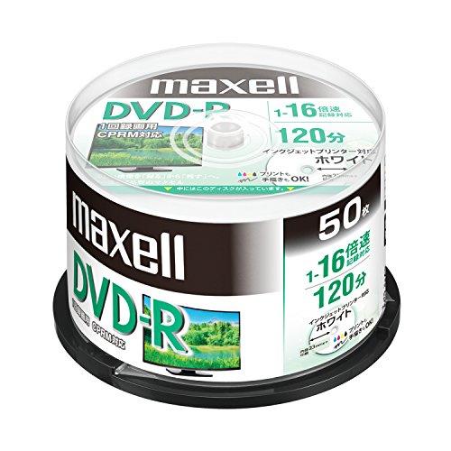 maxell 録画用 (1回録画用) CPRM対応 DVD-...