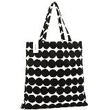 MARIMEKKO バッグ マリメッコ 068955 190 ラシィマット RASYMATTO トートバッグ WHITE/BLACK [並行輸入品]