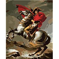 DIY PBN-paint by number Napoleon Bonaparte 16X20 inches Frameless. by ES Art [並行輸入品]