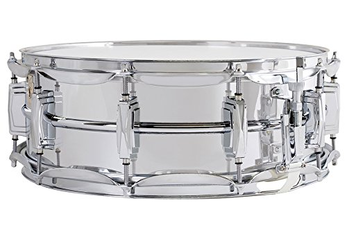 Chrome Metal Snare Smooth Shells Classic Lugs LM400