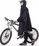 QIAN レインコート 自転車 バイク 通学兼用 レインウエア フリーサイズ 男女兼用 メンズ レディース 軽量防水 高品質