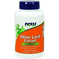 [海外直送品] ナウフーズ  Olive Leaf Extract 100 Vcaps