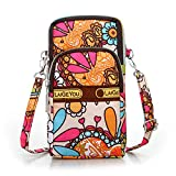 Minhuih 単色 女性のショルダーバッグハンド 携帯電話ショルダーバッグ 財布 多機能ハンドバッグ