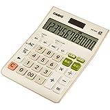 カシオ スタンダード電卓 W税率設定・税計算 デスクタイプ 12桁 DW-200T-N ホワイト