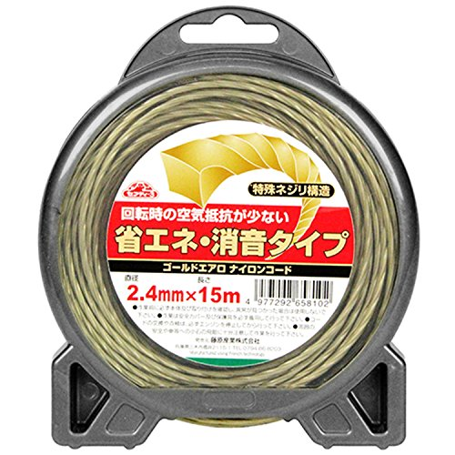 セフティ-3 ゴールドエアロナイロンコード 2.4x15m