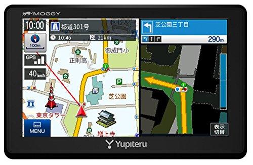 ユピテル 5インチ ワンセグ オービス情報収録 ポータブルカーナビ YPB553