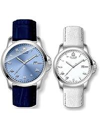 スイスミリタリー腕時計 ローマン(Roman) ペアウォッチ ML409-ML410[正規輸入品]
