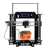 HICTOP Reprap Prusa i3 3D プリンターキット DIY アクリル板 未組立 黒3dp-08bk