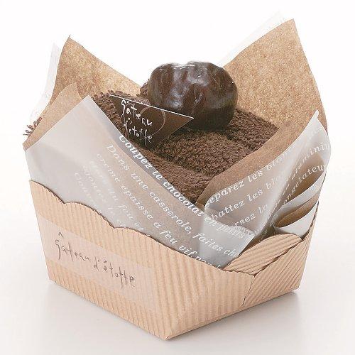 日本ユーテンシル ガトーエトフタオル ショートケーキ チョコ