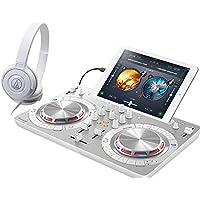 PIONEER DJスタートセット DDJ-WEGO4-W + ATH-S100(DJコントローラー + ヘッドホン) (ホワイト)