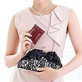 (ガール) GIRL 手のひらサイズ ミニ 財布 レディース シンプル コンパクト 二つ折り パーティ 二次会 旅行 デコ 小銭入れ ce196109