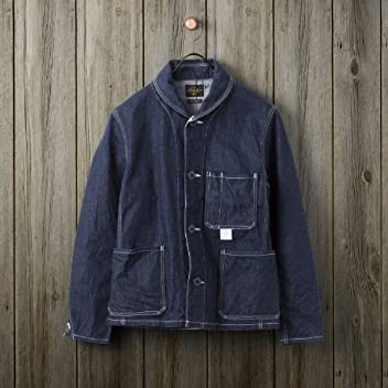 Deck Jacket Cone Mills Denim: Indigo
