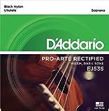 【国内正規品】D'Addario ダダリオ ウクレレ弦 Pro-Arté ブラックナイロン ソプラノ EJ-53S EJ53S Black