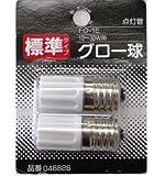 オーム電機 点灯管【2個入】OHM FG-1E-2P(04-6826)