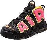 [ナイキ] W AIR MORE UPTEMPO メンズ 917593-002 ブラック/ホットパンチ/ボルト/トータルオレンジ 27.5 cm