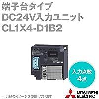 三菱電機 CL1X4-D1B2 端子台タイプDC24V入力ユニット (DC入力) (入力点数: 4点) (端子台接続) NN