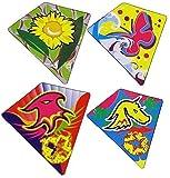 ニューバランス 574 4Unique Easy Flyerアウトドア、ビーチ凧for Kids。赤魚、イーグル、ひまわり、ユニコーン、子供とバタフライデザイン凧forのバンドル。