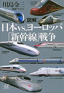 図解日本vs.ヨーロッパ「新幹線」戦争 の書影