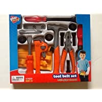 Play Right 18 Piece Tool Belt Set with Pipe Wrench by Walgreens [並行輸入品]