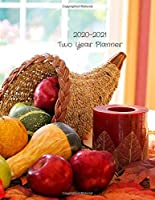 2020-2021 Two Year Planner: Record Your Daily Appointments, Schedule, Priorities, To-Do Lists & Important Reminders for 2 Years in this 131 page 1 January 2020 to 31 December 2021 Weekly Planner / Journal; One Week Per Page (fruit & candle)