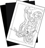 ホンダ(HONDA) CB750の切り紙用【型紙】と切り紙用紙2枚のセット