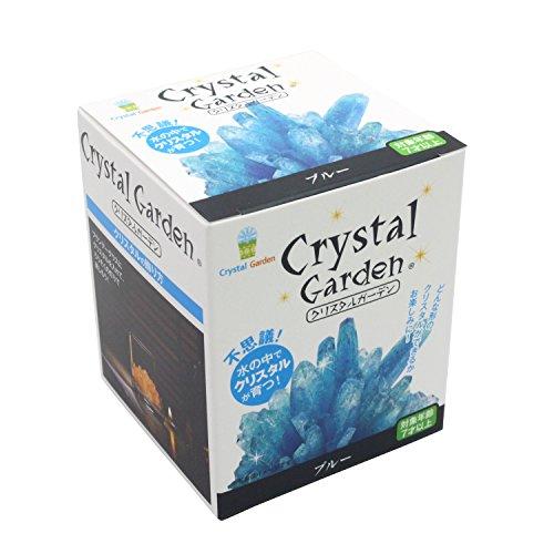 不思議 水の中でクリスタルが育つ クリスタル ガーデン ブルー