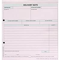 Sigma Delivery Note Business Form 3 Part Set 207x220mm Ref SD3 [Pack of 50]