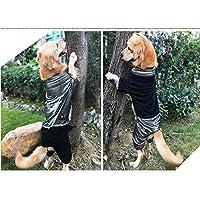 大きな犬のフリースのセーター 両面ドレス ペット服 あなたのペットを暖かく保つ 秋と冬の服 中型および大型犬 ゴールデンレトリーバーハスキーラブラドール 2個