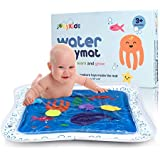 """JoeyKids Deluxe Inflatable Baby Water Mat - Large 24"""" x 24"""" Water Play Mat for Children and Infant"""