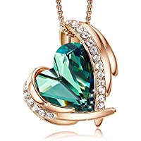CDE     rose-gold-plated-brass heart-shape   pink green yellow NA  3_Green