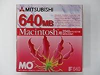 三菱化学MOディスク3.5インチ640MB・Macintoshフォーマット済