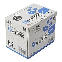 コピー用紙 高白色高平滑 B5 2500枚 500枚×5冊 ペーパーエクセルプロスーパーマルチ